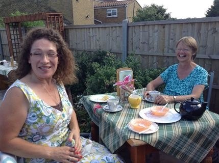 Enjoying High Tea in the Garden August 2013.jpeg